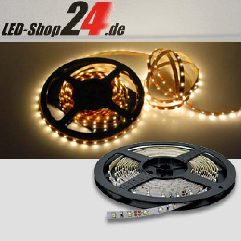 led streifen wasserdicht ip54 bis ip68 mit 260 lumen m warmwei 12 volt led 15 90. Black Bedroom Furniture Sets. Home Design Ideas
