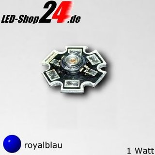 LUXEON LED Star LXHL-MRRC, 1 Watt royalblau
